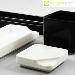 Gedy, contenitori in ceramica bianco nero, Makio Hasuike (7)