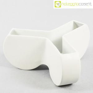 Ceramiche Franco Pozzi, vaso contenitore Trifoglio, Ambrogio Pozzi (1)
