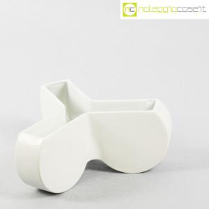 Ceramiche Franco Pozzi, vaso contenitore Trifoglio, Ambrogio Pozzi (3)