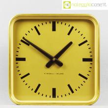 Boselli orologio da muro quadrato oro