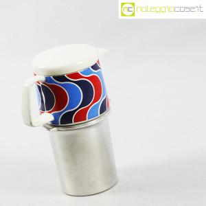 Ceramiche Franco Pozzi, caffettiera con decoro optical, Ambrogio Pozzi (3)