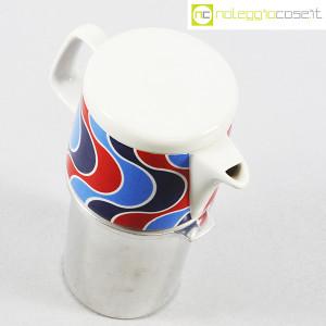 Ceramiche Franco Pozzi, caffettiera con decoro optical, Ambrogio Pozzi (4)