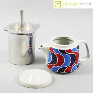 Ceramiche Franco Pozzi, caffettiera con decoro optical, Ambrogio Pozzi (5)