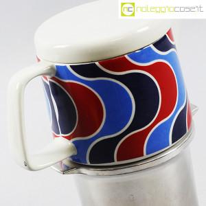Ceramiche Franco Pozzi, caffettiera con decoro optical, Ambrogio Pozzi (6)
