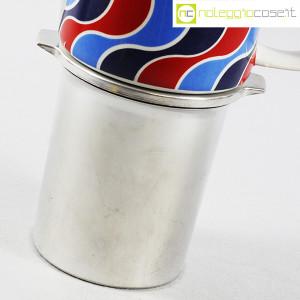 Ceramiche Franco Pozzi, caffettiera con decoro optical, Ambrogio Pozzi (8)