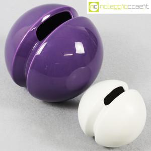 Ceramiche Franco Pozzi, vasi Rocchetto viola e bianco, Ambrogio Pozzi (4)