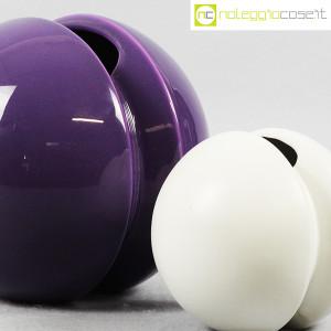 Ceramiche Franco Pozzi, vasi Rocchetto viola e bianco, Ambrogio Pozzi (6)