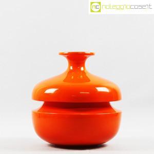 Il Picchio, vaso arancione con strozzatura, Enzo Bioli (2)