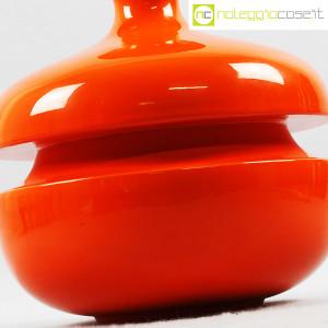 Il Picchio, vaso arancione con strozzatura, Enzo Bioli (5)