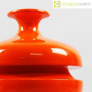 Il Picchio, vaso arancione con strozzatura, Enzo Bioli (6)