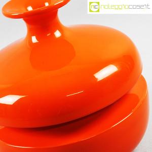 Il Picchio, vaso arancione con strozzatura, Enzo Bioli (7)