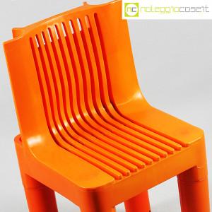 Kartell, sedia per bambini arancio K1340, Marco Zanuso, Richard Sapper (5)