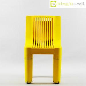 Kartell, sedia per bambini gialla K1340, Marco Zanuso, Richard Sapper (2)
