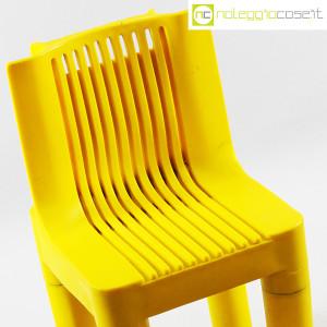 Kartell, sedia per bambini gialla K1340, Marco Zanuso, Richard Sapper (5)
