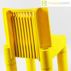 Kartell, sedia per bambini gialla K1340, Marco Zanuso, Richard Sapper (7)