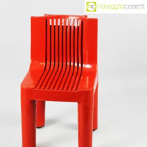 Kartell, sedia per bambini rossa K1340, Marco Zanuso, Richard Sapper (4)
