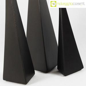 Milesi Ceramiche, set vasi a piramide neri (7)