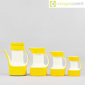 Pagnossin ceramiche, set brocche gialle (2)