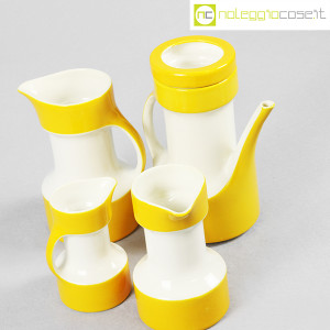 Pagnossin ceramiche, set brocche gialle (4)