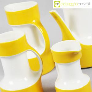 Pagnossin ceramiche, set brocche gialle (7)