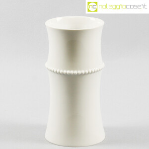 Alessi, vaso bianco Medium Vase, Michael Graves (1)