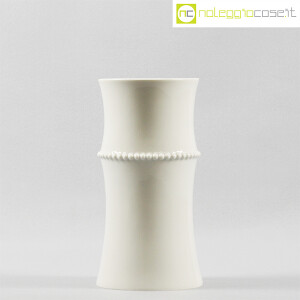 Alessi, vaso bianco Medium Vase, Michael Graves (2)