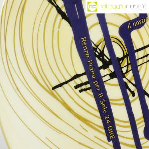 Il Sole 24 Ore, piatto in 1200 esemplari Nuovi Segni, Renzo Piano (8)