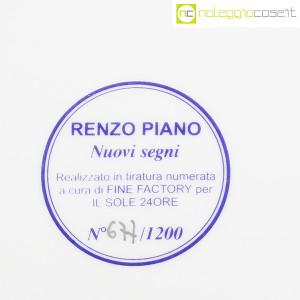 Il Sole 24 Ore, piatto in 1200 esemplari Nuovi Segni, Renzo Piano (9)