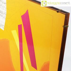 Bruno Munari, litografia Ricostruzione Teorica di un oggetto Immaginario (4)
