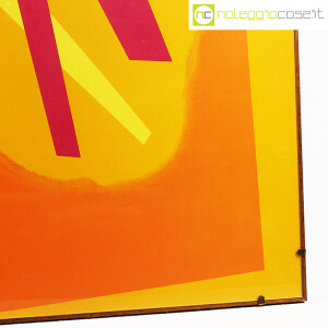 Bruno Munari, litografia Ricostruzione Teorica di un oggetto Immaginario (7)