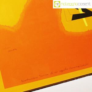 Bruno Munari, litografia Ricostruzione Teorica di un oggetto Immaginario (9)