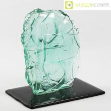 Fiam scultura in vetro Leonardo Nobili