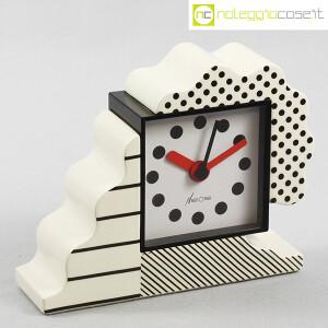 Lorenz, orologio serie NEOS in ceramica bianco e nero, Sowden, Du Pasquier (1)