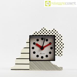 Lorenz, orologio serie NEOS in ceramica bianco e nero, Sowden, Du Pasquier (2)