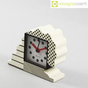 Lorenz, orologio serie NEOS in ceramica bianco e nero, Sowden, Du Pasquier (3)