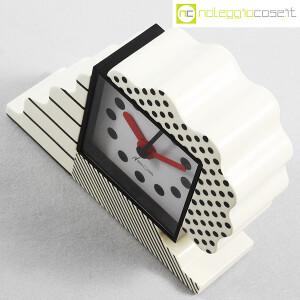 Lorenz, orologio serie NEOS in ceramica bianco e nero, Sowden, Du Pasquier (4)