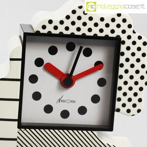 Lorenz, orologio serie NEOS in ceramica bianco e nero, Sowden, Du Pasquier (5)