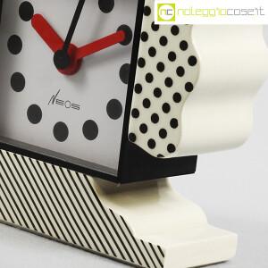 Lorenz, orologio serie NEOS in ceramica bianco e nero, Sowden, Du Pasquier (8)