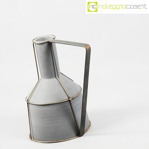 Milesi Ceramiche, grande brocca con rete metallica (3)