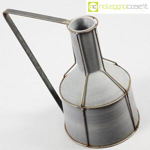 Milesi Ceramiche, grande brocca con rete metallica (4)