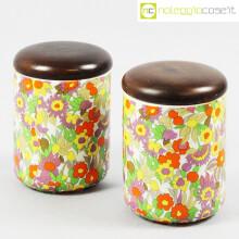 Ceramiche Pozzi barattoli decoro POP