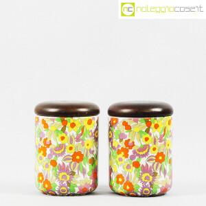 Ceramiche Franco Pozzi, set barattoli decoro POP, Ambrogio Pozzi (2)
