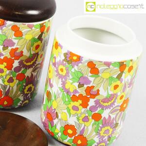 Ceramiche Franco Pozzi, set barattoli decoro POP, Ambrogio Pozzi (7)