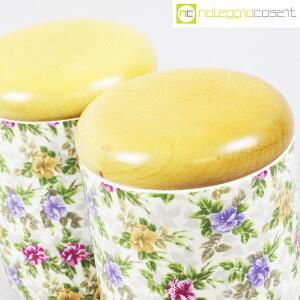 Ceramiche Franco Pozzi, set barattoli decoro a fiori, Ambrogio Pozzi (6)