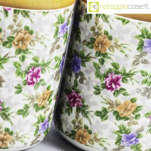 Ceramiche Franco Pozzi, set barattoli decoro a fiori, Ambrogio Pozzi (8)