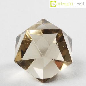 Icosaedro regolare in vetro fumè (2)