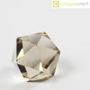 Icosaedro regolare in vetro fumè (3)