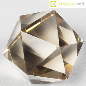 Icosaedro regolare in vetro fumè (4)