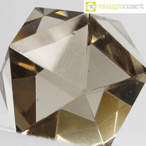 Icosaedro regolare in vetro fumè (5)