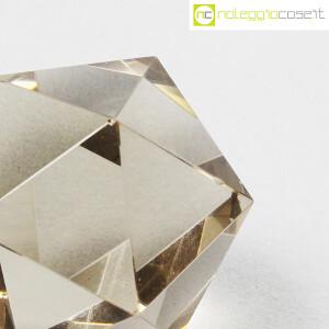 Icosaedro regolare in vetro fumè (6)
